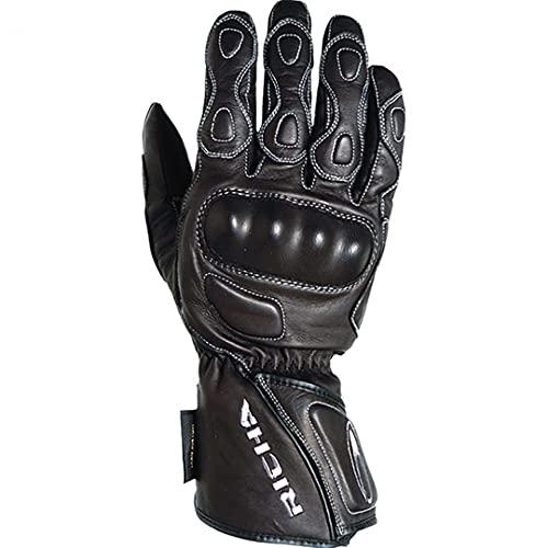 Richa Gants de moto gants de moto longs Racing WP Gant noir M, Hommes, Tourer, toute l'année