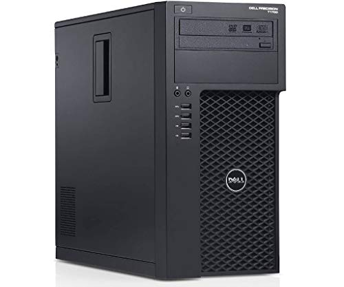 Dell Precision T1700 Tower Workstation Intel i7 i7-4770 3.40 G,16G,512G SSD+3T,Radeon HD 4650 1G VC,DVD,WiFi,HDMI,DP Port,VGA,BT 4.0,W10P64 (Renewed)-Support-English/Spanish