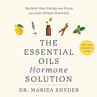 The Essential Oils Hormone Solution     Reset Your Hormones in 14 Days with the Power of Essential Oils              Written by:                                                                                                                                 Dr. Mariza Snyder                               Narrated by:                                                                                                                                 Suzie Althens                      Length: 10 hrs and 39 mins     2 ratings     Overall 5.0