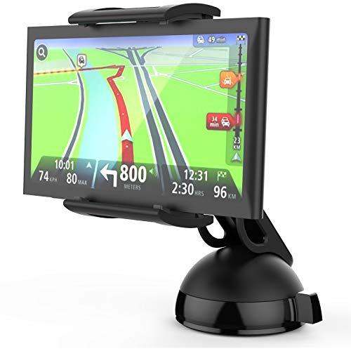 MONTOLA® Navihalterung Universal fürs Auto - Smartphone und Navi Halterung Fenster & Armaturenbrett