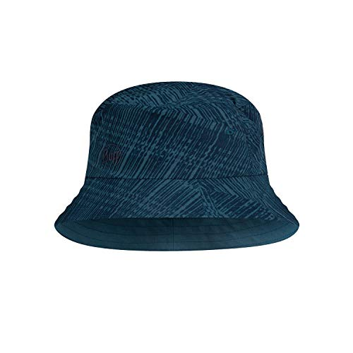 Buff Unisex Trek Bucket Hat Baskenmütze, blau, S/M
