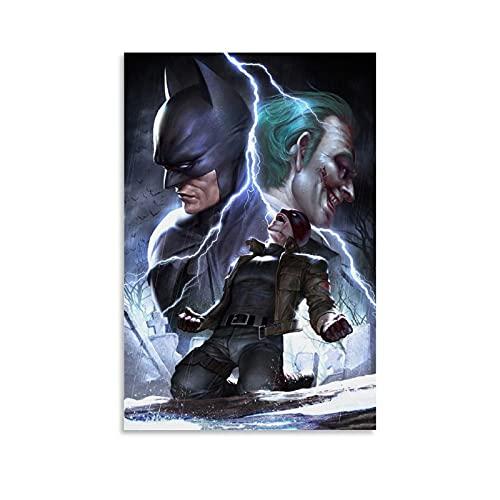 xiaogou Póster de Batman bajo el capó rojo, 40 x 60 cm