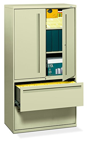 Big Sale Best Cheap Deals HON 785LSL 700 Series 36 by 19-1/4-Inch Lateral File with Storage Cabinet, Putty
