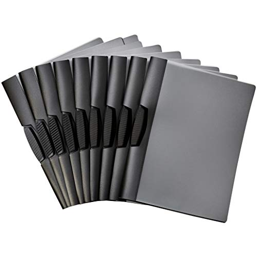 AmazonBasics Report Folder Cover with Clip, Pack of 10