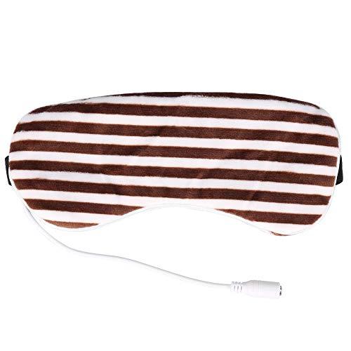 Jinyank Heat Eye - Sombra de ojos eléctrica reutilizable y cómoda con USB para ojos hinchados, antiarrugas, círculo oscuro