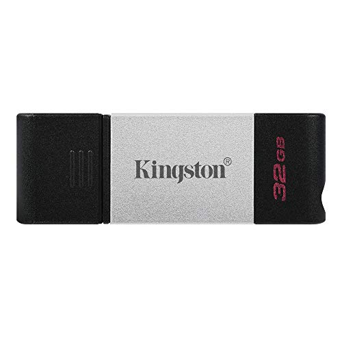 キングストン USBメモリ Type-C 32GB USB 3.2 gen1 USB 3.0 Type-C 最大転送速度 200MB/s DataTraveler80 D...