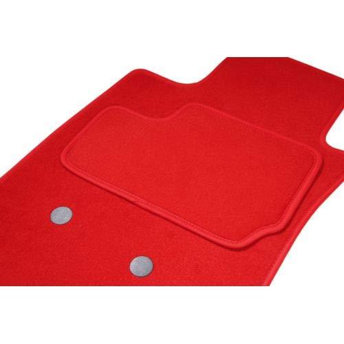 Teppich ARNAGE, 2 vorne, rot, 04.98 bis 12.09, passgenau Teppich ETILE
