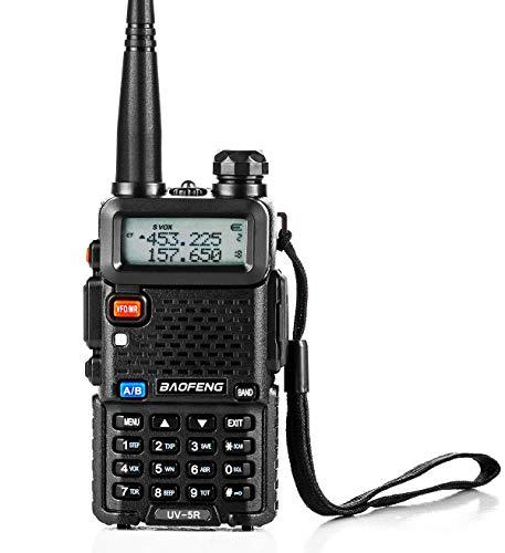 トランシーバー 無線機 U/Vデュアルバンド 超長距離タイプ 5R VOX機能付き 簡単操作 災害·地震 緊急対応 1台セット