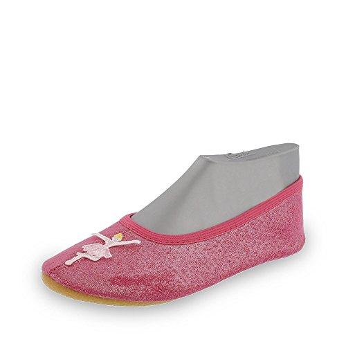 Beck Ballerina, Chaussures de Gymnastique Fille, Rose (Pink 06), 24 EU