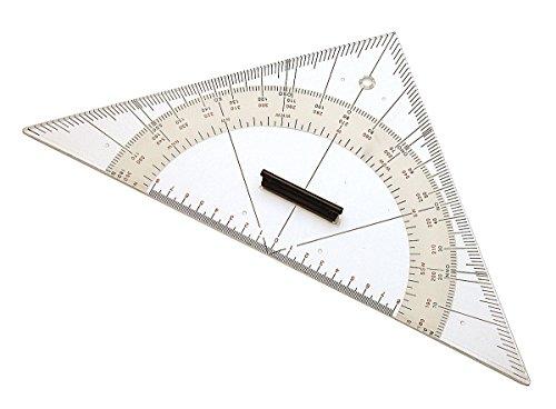Triangular protractor large by Navyline GmbH