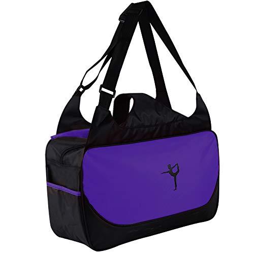 Bolsa de yoga, esterilla de yoga, bolsa de viaje deportiva, gran capacidad, esterilla de yoga, bolsa de transporte, bolsa de gimnasio, bolsa de yoga para oficina, yoga, viajes y gimnasio