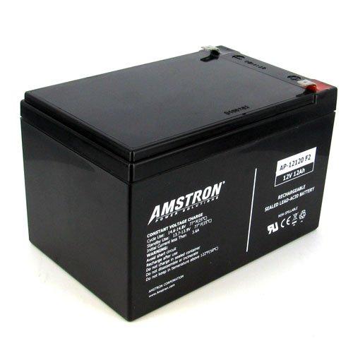 Amstron 12V/12AH Sealed Lead Acid Battery w/ F2 Terminal