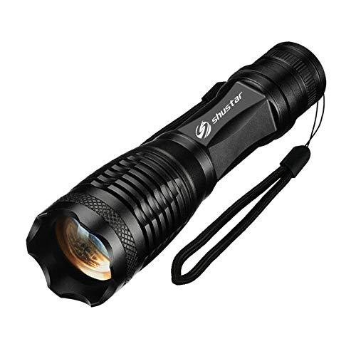 1/2 / 3PACK Linterna LED de alta potencia T6 / L2 antorcha impermeable de antorcha de antorcha de antorcha de zoom 5 modos para 3xaaa o 1x18650 ( Body Color : L2 8000 Lumen , Emitting Color : 1 Pack )