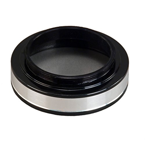 OMAX 38mm Thread Ring Light Adapter with Protection Glass for Bausch & Lomb Microscopes