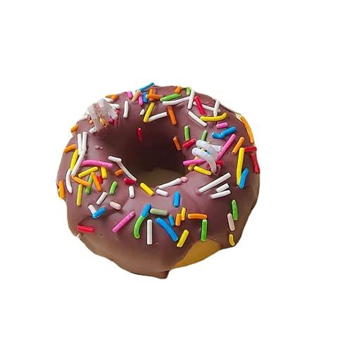 WYGOAKG Café espolvorear donut vela perfumada cera de soja mango fragancia velas boda fiesta vela conjunto para decoración