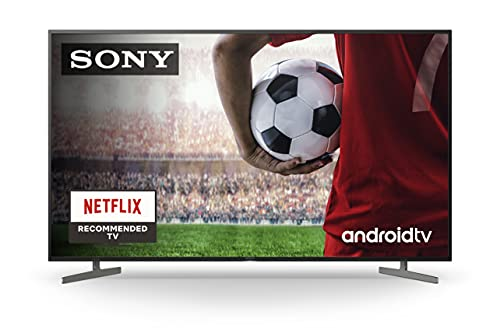 Sony KD-55XH8196 - HDR Android TV (procesador X1 4K HDR, Triluminos, X-Reality PRO, MotionFlow XR, X-Balanced Speaker, Dolby Vision, Dolby Atmos, mando con control por voz), Compatible con Alexa