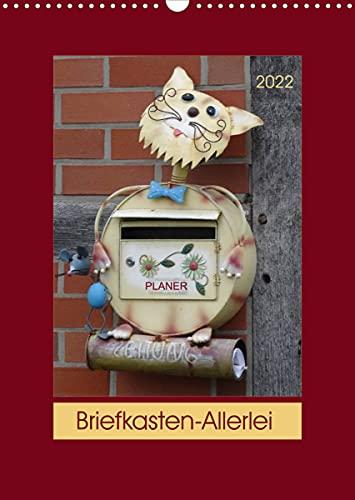 Briefkasten-Allerlei (Wandkalender 2022 DIN A3 hoch)