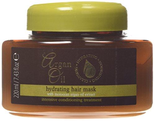 Masque hydratant à l'huile d'argan avec extrait d'huile d'argan marocaine 220ml