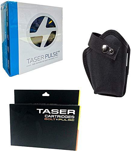 TASER Pulse Plus Self Defense Stun Gun Kit with Holster and 2 Extra Cartridges