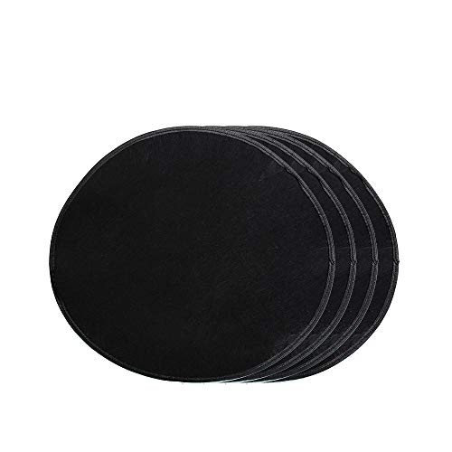 J&C 4Pcs Wheel Felt Cover 21inches Lightweight Universal Fit Dustproof Wheel Protection Cover Spare Wheel Felts