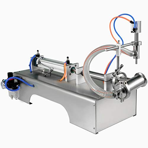 VEVOR Llenadora de Botellas 5-100ML Máquina Neumática de Rellenar Máquina de Llenado Manual de Líquidos
