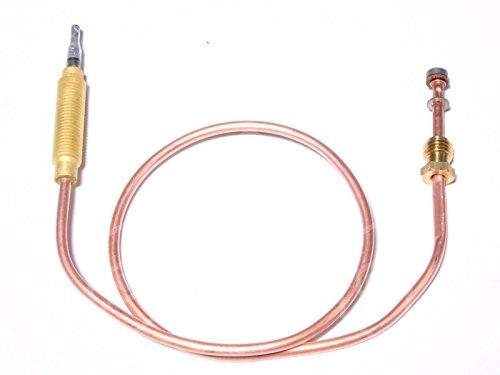 Gico Thermoelement für Gasherd 64-222F, 64-222FE, 64-222FCE, 64-040FCE Länge 450mm M8x1 M8x1