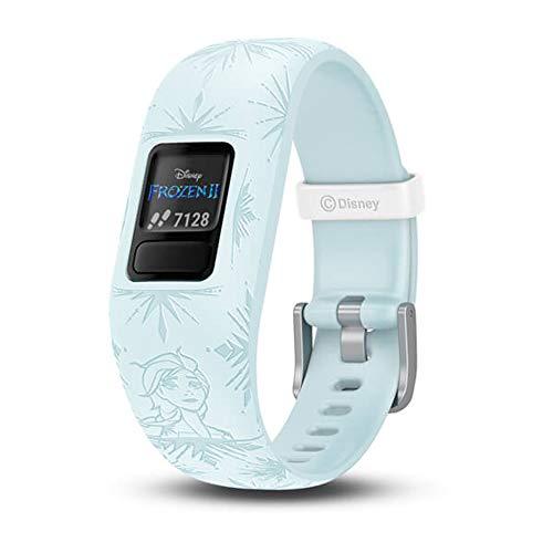 Garmin Vivofit Jr 2 Kids Disney Frozen 2 Anna Elsa Silicone Band Fitness/Activity Tracker Smart Watch
