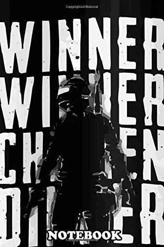 Notebook: Pubg Winner Winner Chicken Dinner Poster , Journal for Writing, College Ruled Size 6
