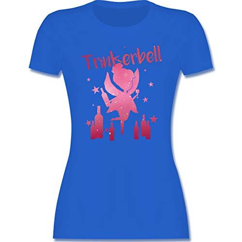 Karneval & Fasching - Trinkerbell mit Flaschen - S - Royalblau - Gruppen Shirts - L191 - Tailliertes Tshirt für Damen und Frauen T-Shirt