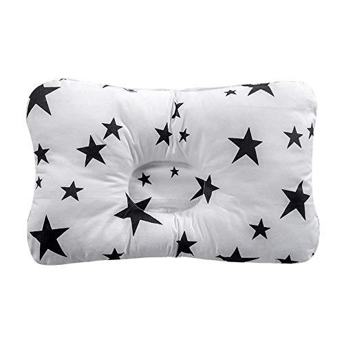 SFBBBO Cuscino Cuscino per L'Allattamento Cuscino per Il Sonno Neonato Supporto per Il Sonno concavo Cuscino Modellante Stampato Prevenire la Testa Piatta NO30