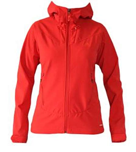 adidas Womens TS Softshell Hoody Power red 36 Damen
