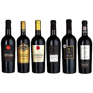 Probierpaket-Primitivo-di-Manduria-DOC-Weinpaket-mit-italienischem-Rotwein-Perfektes-Tasting-Set-trocken-6-x-075-l