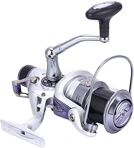 11 + 1 rodamientos Spinning Pesca Reel Reeles Rueda de pesca Lews con el sistema de arrastre del cuerpo de aluminio duradero Power Telescopic Opciones traseras Carrete fijo para pescar Barco de viaje