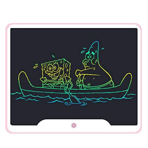HAJZF 15 Pulgadas Tableta Gráfica LCD A Color, Electrónica Doodle Pad Digital Ewriter Tabletas Gráficas, De Vuelta con El Juego De Laberinto, Escuela De La Oficina De Negocios De Escritura A Mano Pad