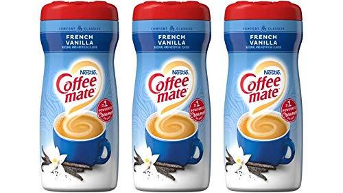 Nestlé Coffee-Mate French Vanilla Powder Kaffeesahne - 3er Pack (3x425g)