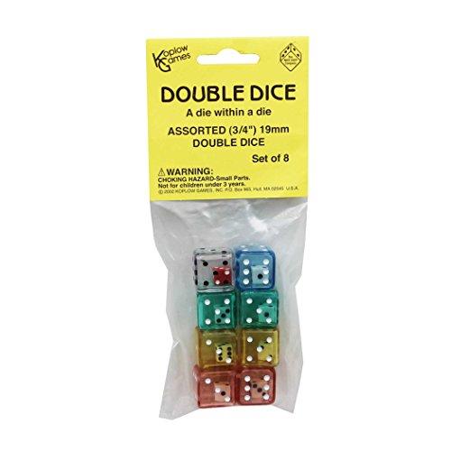 Koplow GAMES INC KOP11703 les DICE DOUBLE