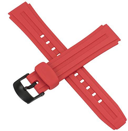 Cinturino originale Casio per orologio W-211 W 211 RED 10268503