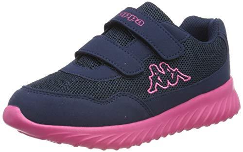 Kappa Mädchen Cracker II Bc K Sneaker, Blau (Navy 260687k-6722), 30 EU