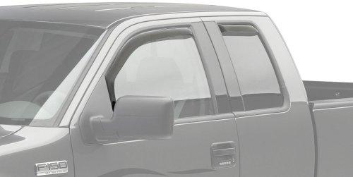 EGR 573171 WindowVisor Dark Smoke 4-Piece in-Channel Tapeless Window Visors