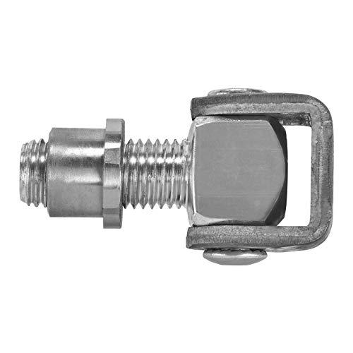 Torangel verstellbar M16 x 185 mm mit Anschwei/ßlaschen Torbeschlag Stahl-Torband Stahltor-Scharnier von SO-TECH/®