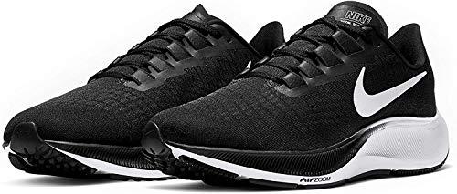 Nike Women's Air Zoom Pegasus 37 Running Shoes Black/White 8 M US
