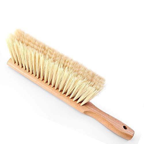 Carry Bed Brush Anti-statisch Dust Brush met zachte handgreep in de woonkamer met houten handvat Bezem Reinigingsborstel Antibotsing