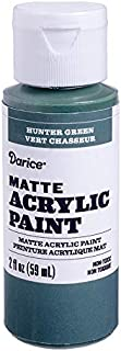 Darice DPCS166-63 Matte Hunter Green, 2 Ounces Acrylic Paint