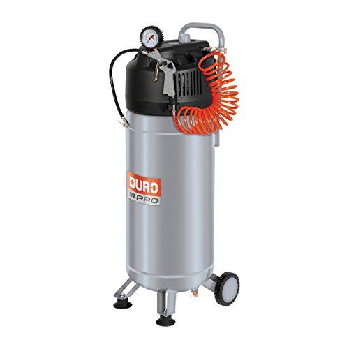 DURO PRO Kompressor 1500W Motorleistung: 1,5 kW (2,0 PS) S3 25% max. 10 bar Kesselinhalt: ca. 50 L