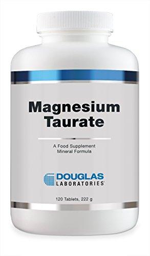 Douglas Laboratories Europe Magnesium Taurate 400 (100 mg Mg) 120 Tabletten (222g)