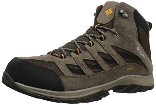 Columbia Men's Crestwood Mid Waterproof Hiking Boot, Breathable, High-Traction Grip 10.5 US