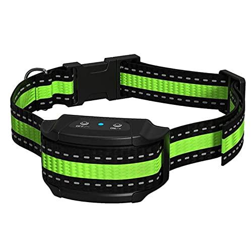 ZHIWE Collar de Adiestramiento Antiladridos Descargas Electrico Ajustable para Perros Pequeños Medianos y Grandes