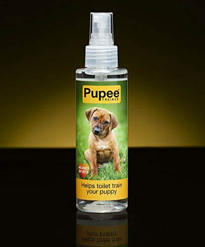 Pupee Trainer Toiletten-Trainingshilfe | Natürliches Lockmittel-Spray | Einfaches und effizientes Welpentraining