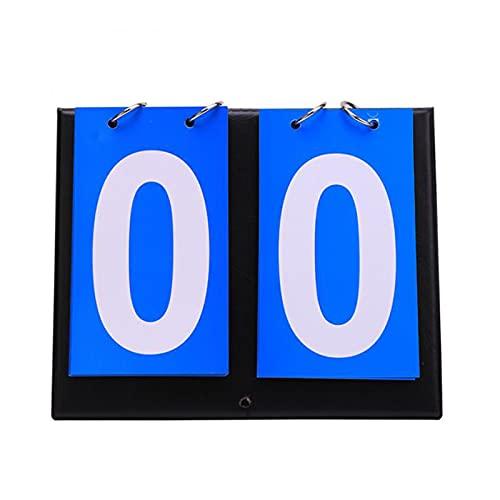 LUWEI Marcadores de marcadores de marcadores Multi dígitos para el Baloncesto de Tenis Bádminton Fútbol,2 Digits