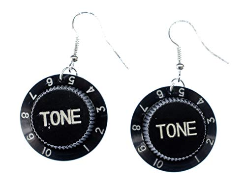 Tone Poti Earrings Miniblings Volume Button Potentiometer Music Musician Guitar